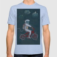 Artcrank poster Mens Fitted Tee Athletic Blue SMALL