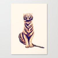 Zen Tiger  Canvas Print