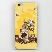 Laundry Monkie iPhone & iPod Skin