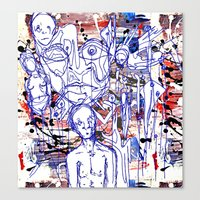 Anxiety And Frustration Canvas Print