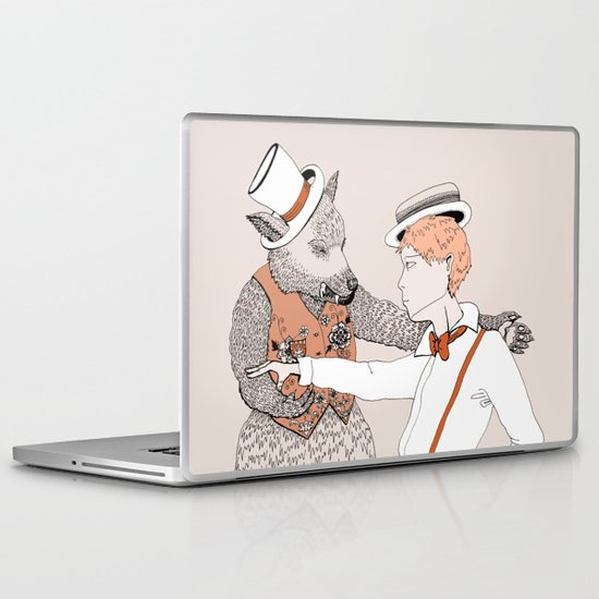 Dansons... Laptop & iPad Skin