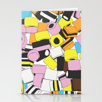 Lots of Liquorice Allsorts Stationery Cards