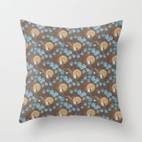 Hecklers Throw Pillow