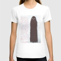 Two ghost pals Womens Fitted Tee White SMALL