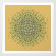 Ornament Groovesky Art Print