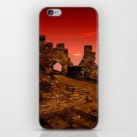 Sun Set Castle iPhone & iPod Skin