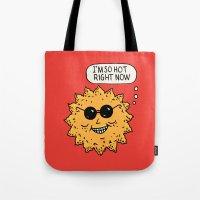 Hot Sun Tote Bag