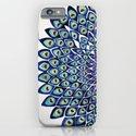 Peacock Mandala – Navy & Gold iPhone & iPod Case