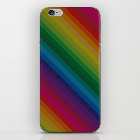 Sophisticated Rainbow iPhone & iPod Skin