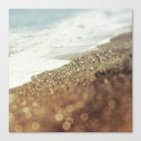 BEACH Golden Bliss Canvas Print