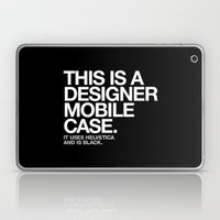 THIS IS A DESIGNER... Laptop & iPad Skin