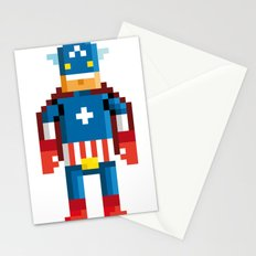 Pixelman America Stationery Cards