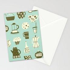 Cafe Au Lait Stationery Cards