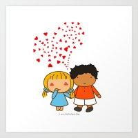 Sweet Valentine Art Print