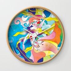 King Triton's Daughter Wall Clock
