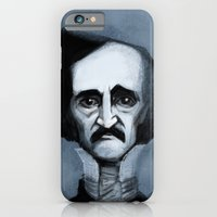 iPhone & iPod Case featuring Mr. Alan Poe by Luis Dourado