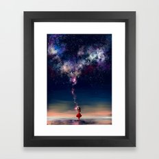 Counting Stars Framed Art Print