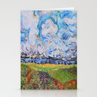 Lost In The Clouds Stationery Cards