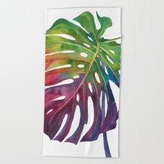 Leaf vol 1 Beach Towel