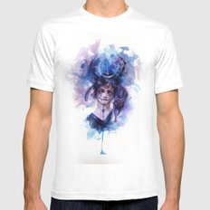 Third Eye Mens Fitted Tee White SMALL