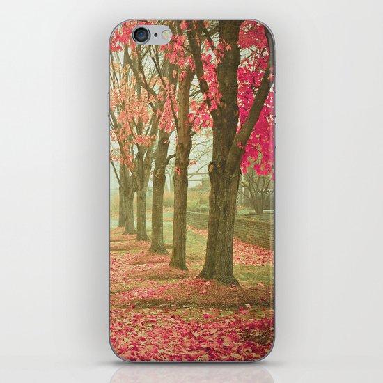 Scarlet Autumn iPhone & iPod Skin