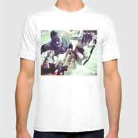 Swim Good Mens Fitted Tee White SMALL