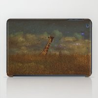 giraffe fantasy  iPad Case