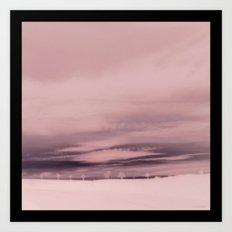 Horizon Line Art Print