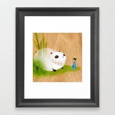 AiLiSi in wonderland Framed Art Print