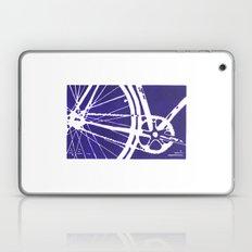 Blue Bike Laptop & iPad Skin