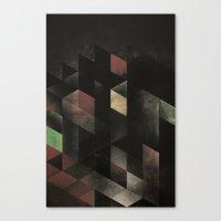 th' cyge Canvas Print