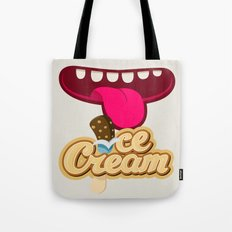 We All Scream For Ice Cream Tote Bag