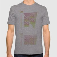 I NEED TO PAY RENT BUT I NEED CAPITALISM TO END Mens Fitted Tee Athletic Grey SMALL