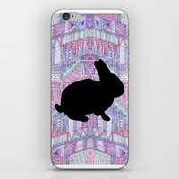 Rabbit Pattern iPhone & iPod Skin