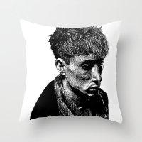 Quiet Man Throw Pillow