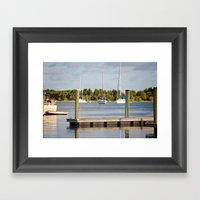 Beaufort, NC Framed Art Print