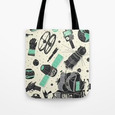Space Funk Tote Bag