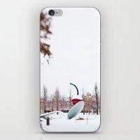 snow spoon & cherry iPhone & iPod Skin