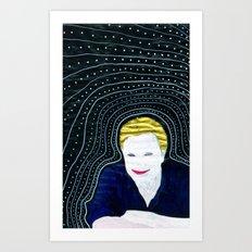 Still attached Art Print