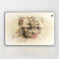CUTE CLOUDED LEOPARD CUB Laptop & iPad Skin
