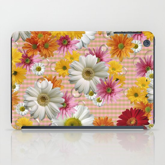 Retro Country Flowers iPad Case