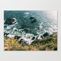 Kirk Creek, Big Sur Canvas Print