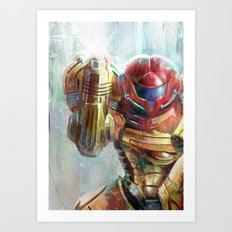 at last the galaxy is at peace  Art Print
