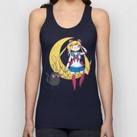 Adventure Moon Unisex Tank Top