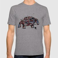 beautiful people 1 Mens Fitted Tee Athletic Grey SMALL
