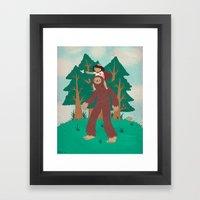 The Bigfoot Adventure Framed Art Print