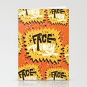 FACE PUNCH Stationery Cards