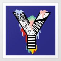 Y for …. Art Print