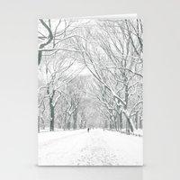 New York City Snow Stationery Cards