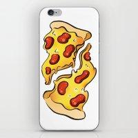 Pizza Pizza (white) iPhone & iPod Skin